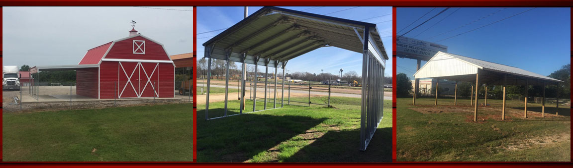 Metal Carports And Garages In Biloxi Gulfport And Vancleave Ms